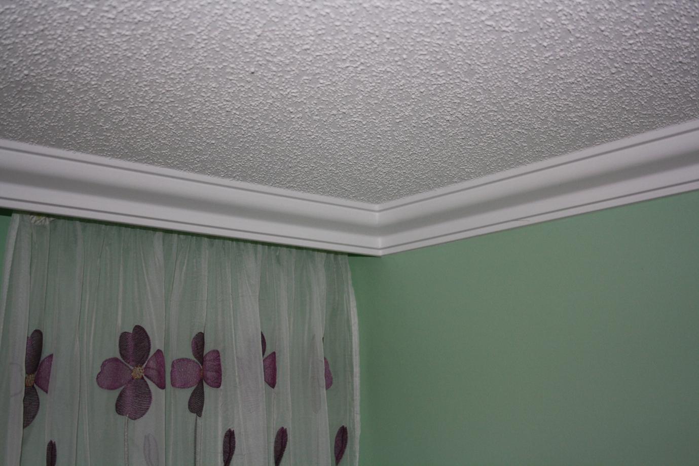 Polystyrenové lišty na strop
