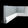 DX159 Podlahová soklová lišta