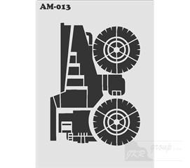 AM-013 Malířská šablona traktor