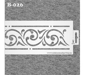 B-026 Dekorační bordura