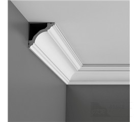 C213F stropní interiérová lišta (ohebná)