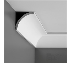 C240F stropní interiérová lišta (ohebná)