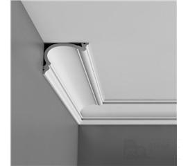 C341F stropní interiérová lišta (ohebná)