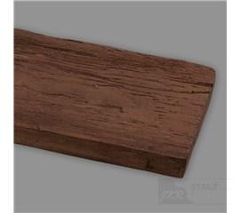 19300 Umělý trám - prkno  2,6m (dub tmavý)