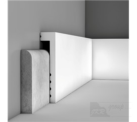 SX171 Podlahová soklová lišta