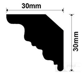 VD08G polystyrenová ozdobná lišta