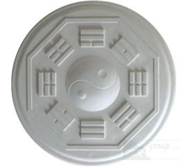 110180 Sádrová rozeta Jing Jang