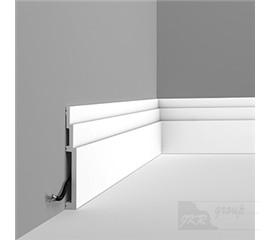 SX181 Podlahová soklová lišta
