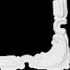BU 40 D ozdobný roh - sada 4 kusy