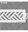 B-009 Dekorační bordura