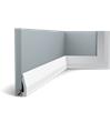 SX159 Podlahová soklová lišta
